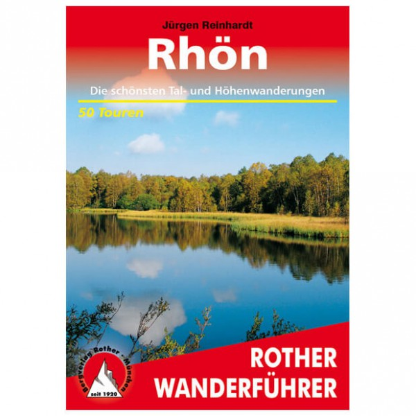 Bergverlag Rother - Rhön - Walking guide books