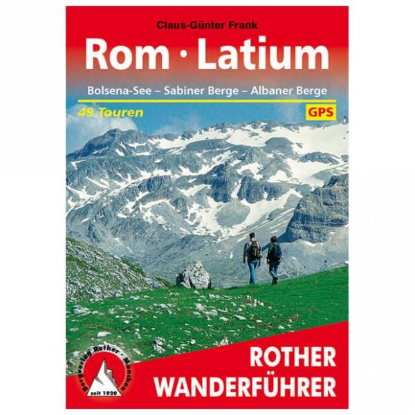 Bergverlag Rother - Rom - Latium - Walking guide book