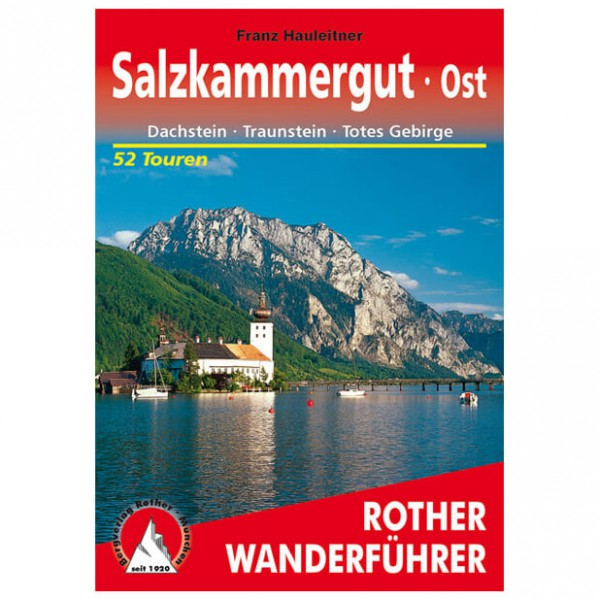 Bergverlag Rother - Salzkammergut Ost - Walking guide books