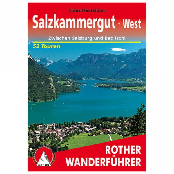 Bergverlag Rother - Salzkammergut West - Walking guide books