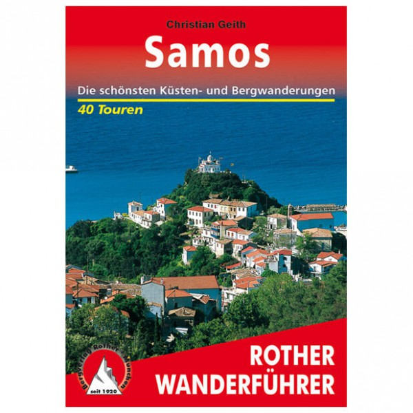 Bergverlag Rother - Samos - Vaellusoppaat