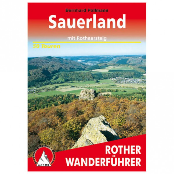 Bergverlag Rother - Sauerland - Wandelgidsen