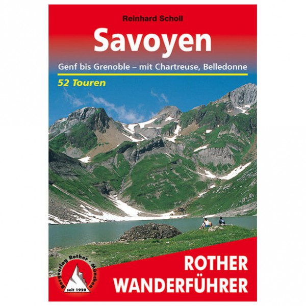 Bergverlag Rother - Savoyen - Walking guide book