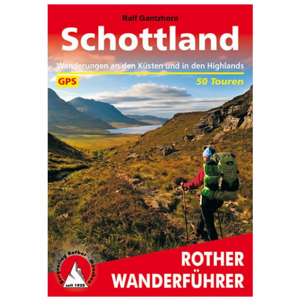 Bergverlag Rother - Schottland - Vaellusoppaat