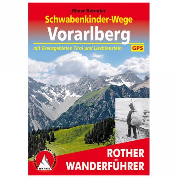 Bergverlag Rother - Schwabenkinder-Wege - Walking guide book