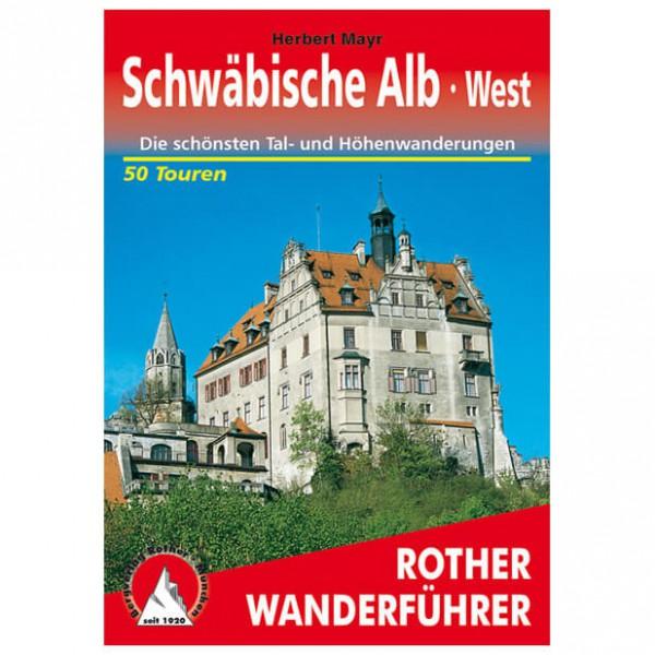 Bergverlag Rother - Schwäbische Alb - West - Vandringsguider