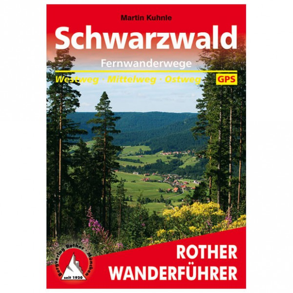 Bergverlag Rother - Schwarzwald Fernwanderwege - Vaellusoppaat