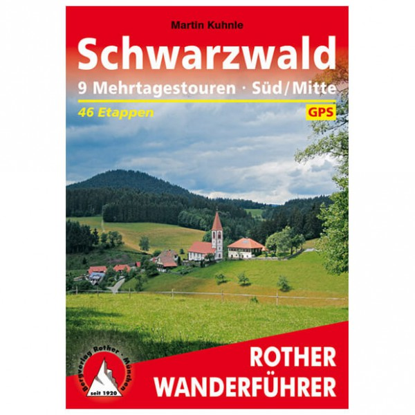 Bergverlag Rother - Schwarzwald Süd/Mitte - Mehrtagestouren