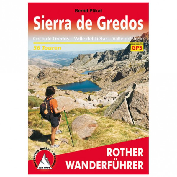 Bergverlag Rother - Sierra De Gredos - Vaellusoppaat