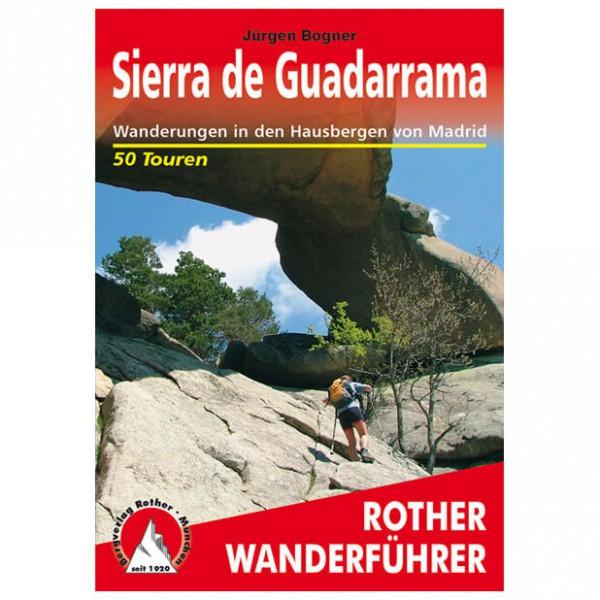 Bergverlag Rother - Sierra De Guadarrama - Vaellusoppaat