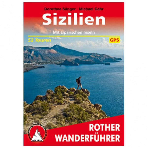 Bergverlag Rother - Sizilien - Vaellusoppaat
