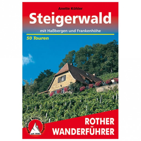 Bergverlag Rother - Steigerwald - Walking guide books