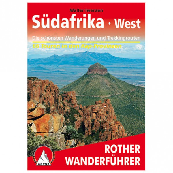 Bergverlag Rother - Südafrika - Guides de randonnée
