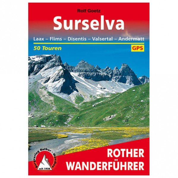 Bergverlag Rother - Surselva - Vandringsguider
