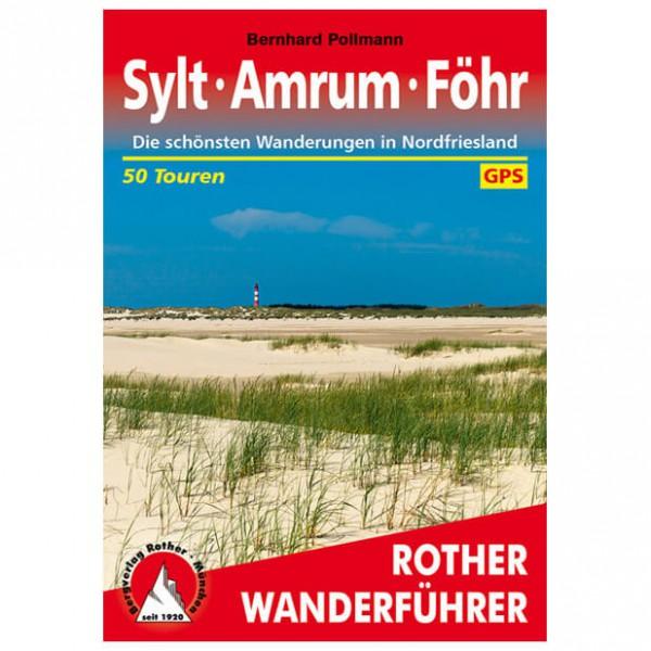 Bergverlag Rother - Sylt - Amrum - Föhr - Walking guide book
