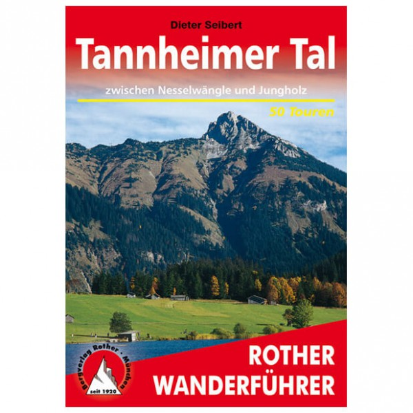 Bergverlag Rother - Tannheimer Tal - Walking guide book