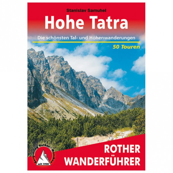 Bergverlag Rother - Tatra - Walking guide books