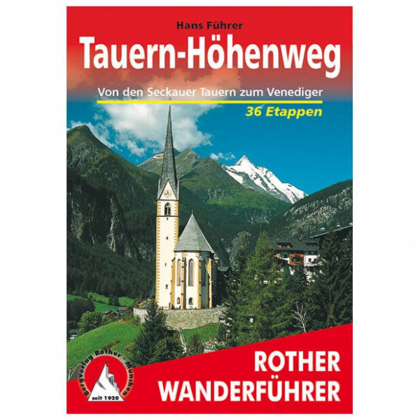 Bergverlag Rother - Tauern-Höhenweg - Vaellusoppaat
