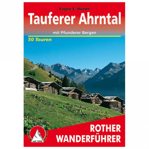 Bergverlag Rother - Tauferer Ahrntal - Guides de randonnée