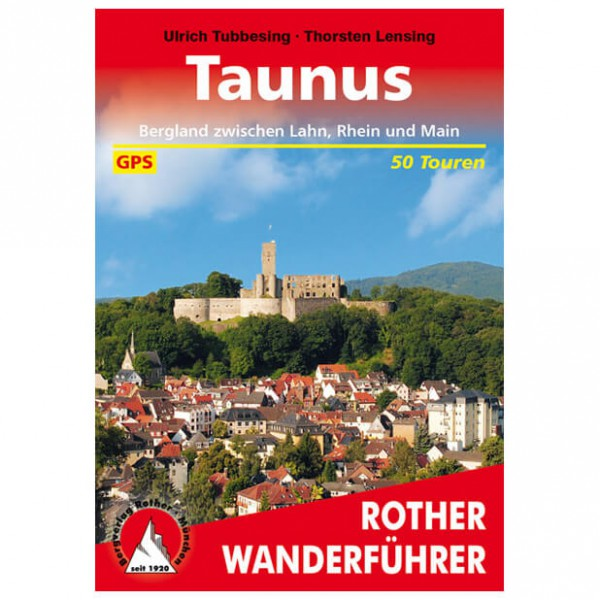 Bergverlag Rother - Taunus - Walking guide books