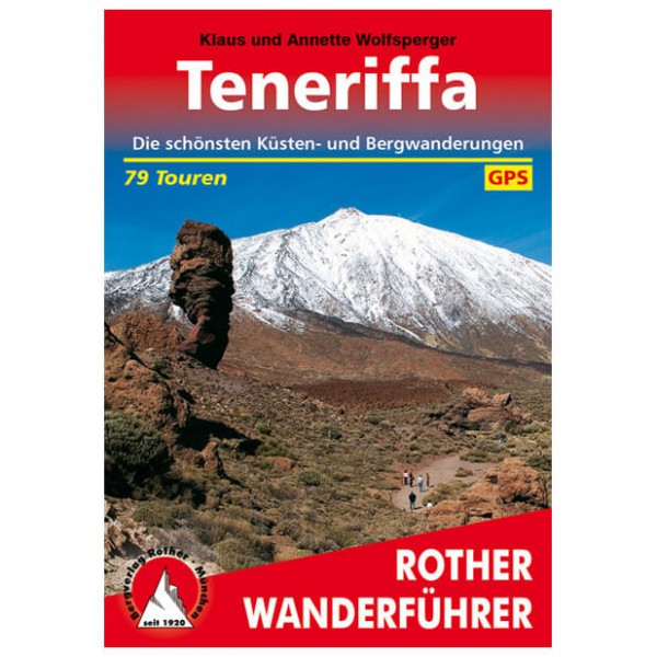 Bergverlag Rother - Teneriffa - Walking guide books