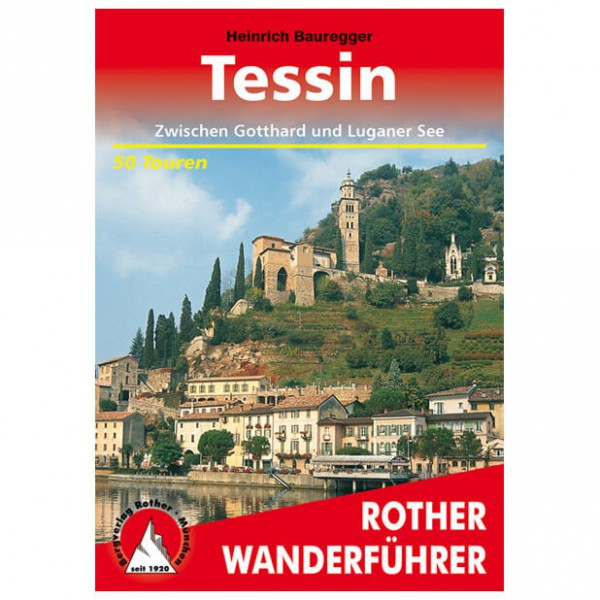 Bergverlag Rother - Tessin - Walking guide book