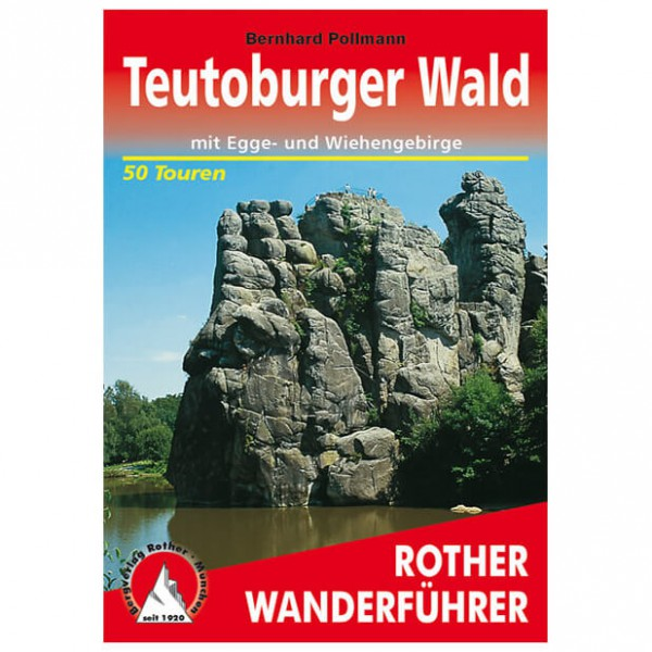 Bergverlag Rother - Teutoburger Wald - Walking guide books