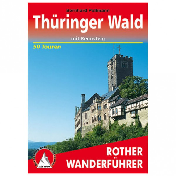 Bergverlag Rother - Thüringer Wald - Guides de randonnée
