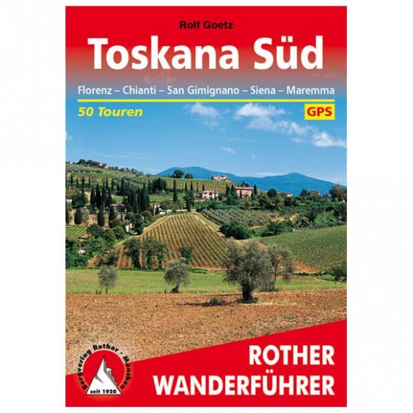 Bergverlag Rother - Toskana - Süd - Wandelgidsen
