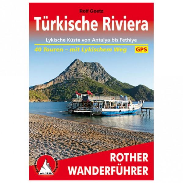 Bergverlag Rother - Türkische Riviera - Walking guide book