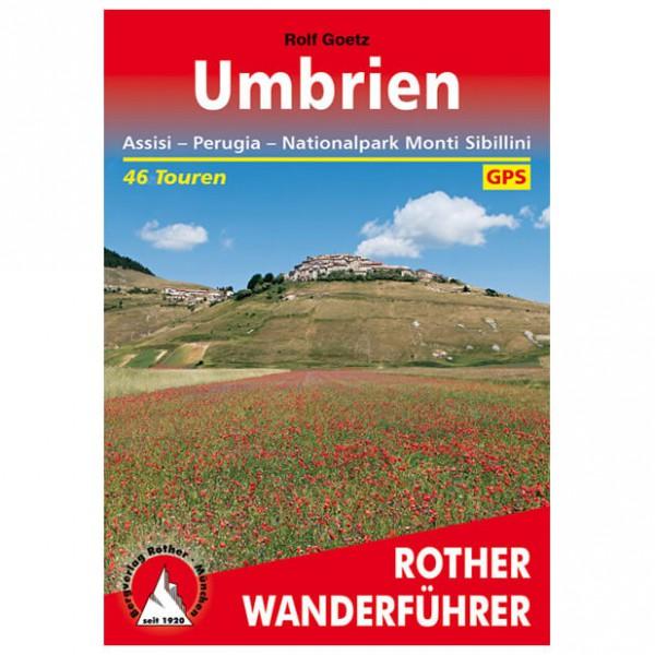 Bergverlag Rother - Umbrien - Vandringsguider