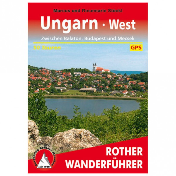 Bergverlag Rother - Ungarn - West - Vandreguides