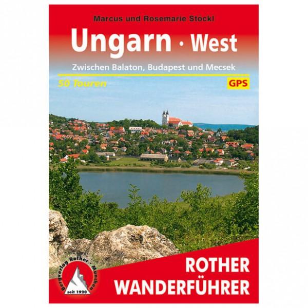 Bergverlag Rother - Ungarn - West - Walking guide book