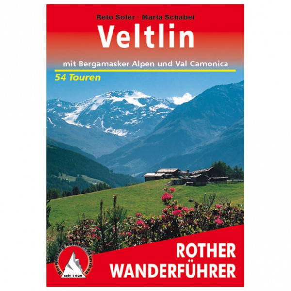 Bergverlag Rother - Veltlin - Walking guide books