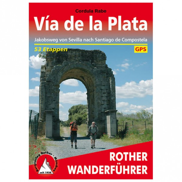 Bergverlag Rother - Via De La Plata - Walking guide books