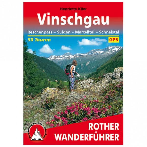 Bergverlag Rother - Vinschgau - Walking guide books