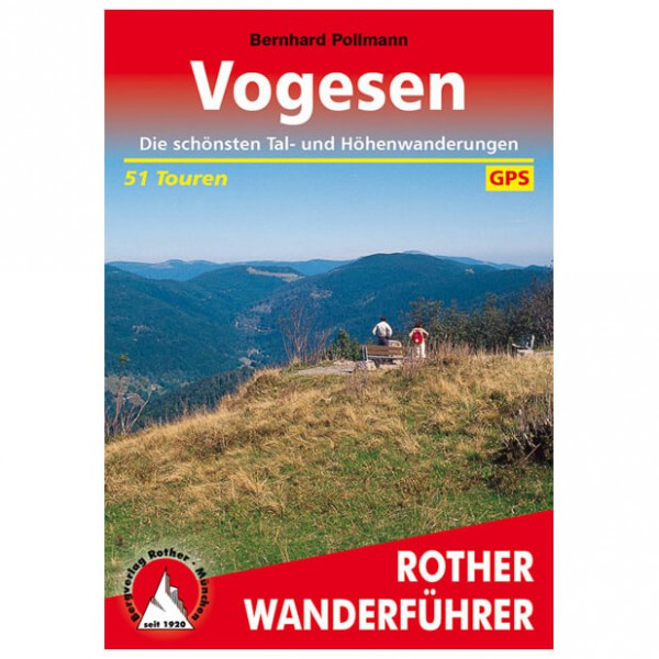 Bergverlag Rother - Vogesen - Wanderführer