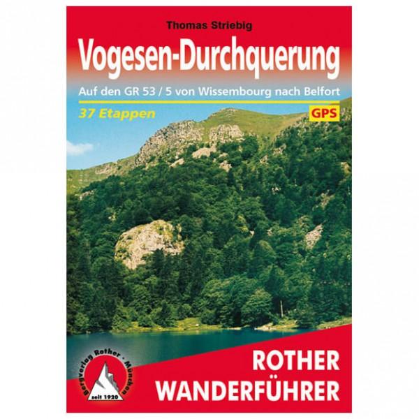 Bergverlag Rother - Vogesen-Durchquerung - Vandringsguider