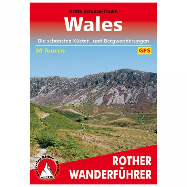 Bergverlag Rother - Wales - Walking guide books