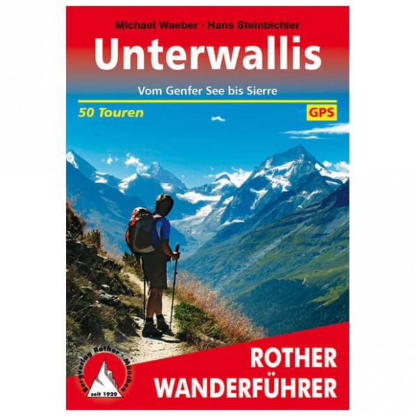 Bergverlag Rother - Wallis - Unterwallis - Vandringsguider