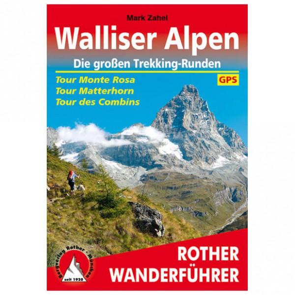 Bergverlag Rother - Walliser Alpen Monte Rosa/Matterhorn - Vandringsguider