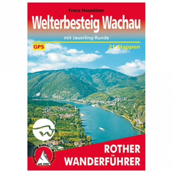 Bergverlag Rother - Welterbesteig Wachau - Walking guide book