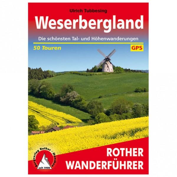 Bergverlag Rother - Weserbergland - Vandringsguider