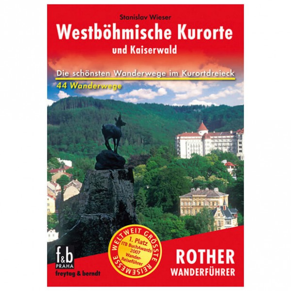 Bergverlag Rother - Westböhmische Kurorte - Vaellusoppaat