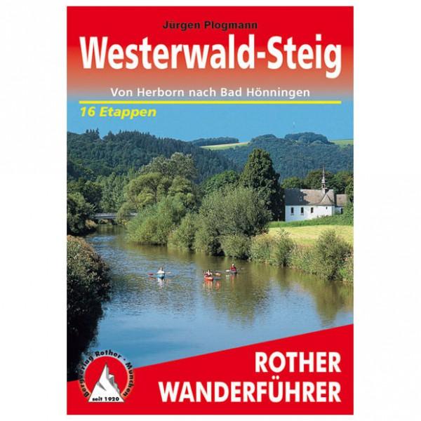 Bergverlag Rother - Westerwald-Steig - Guides de randonnée