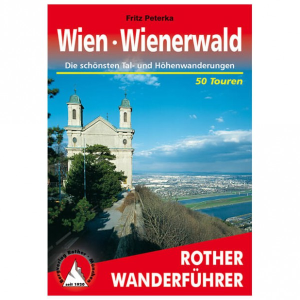 Bergverlag Rother - Wien - Wienerwald - Walking guide book
