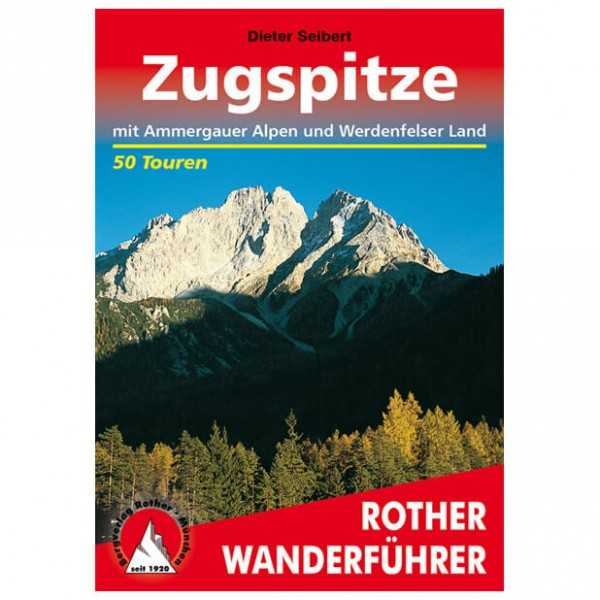 Bergverlag Rother - Zugspitze - Walking guide books