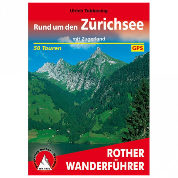 Bergverlag Rother - Zürichsee - Wandelgidsen