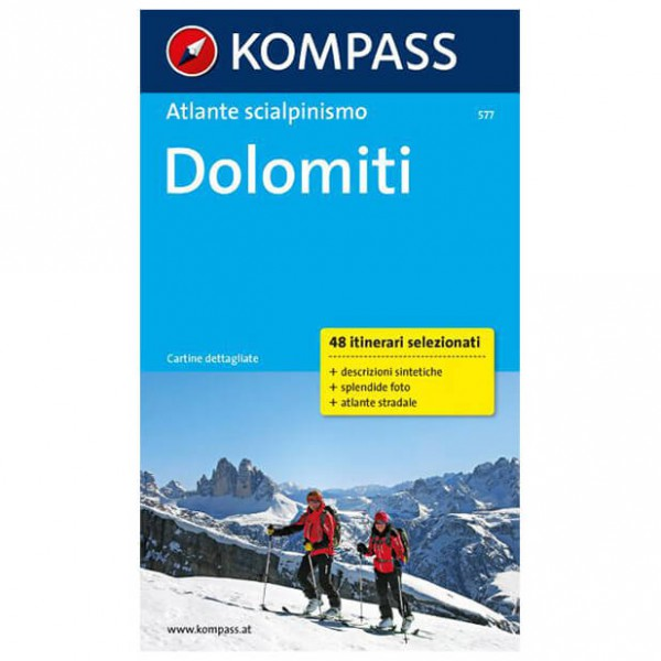 Kompass - Dolomiti - Wanderatlas - Wanderführer