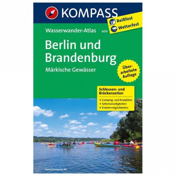 Kompass - Berlin und Brandenburg - Walking guide books